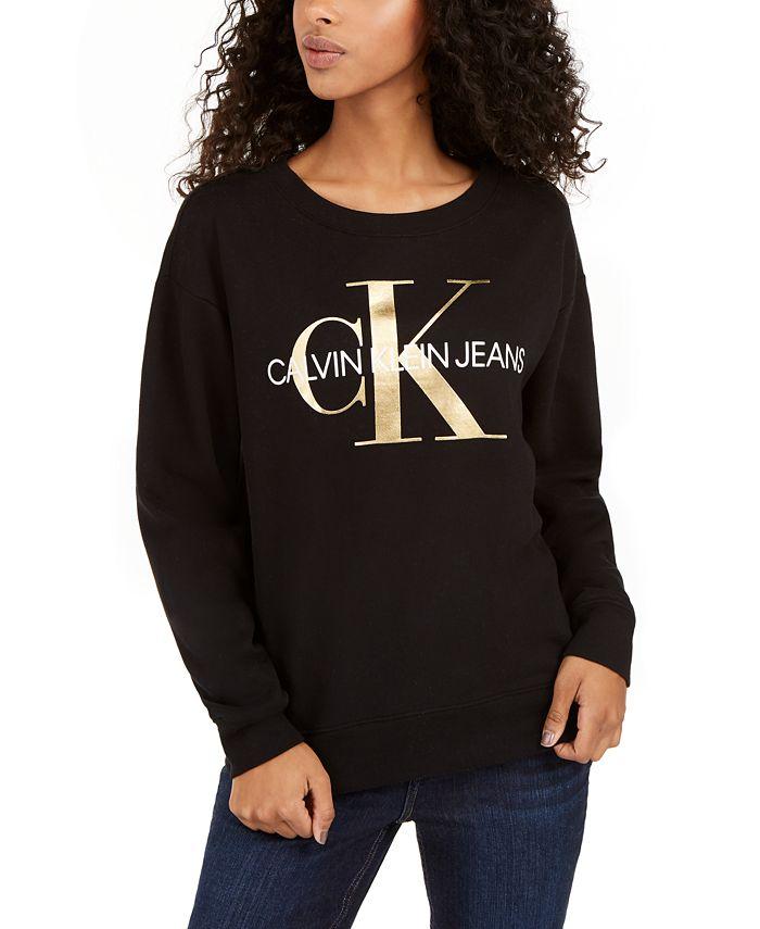 Calvin Klein Jeans - Logo-Print Sweatshirt