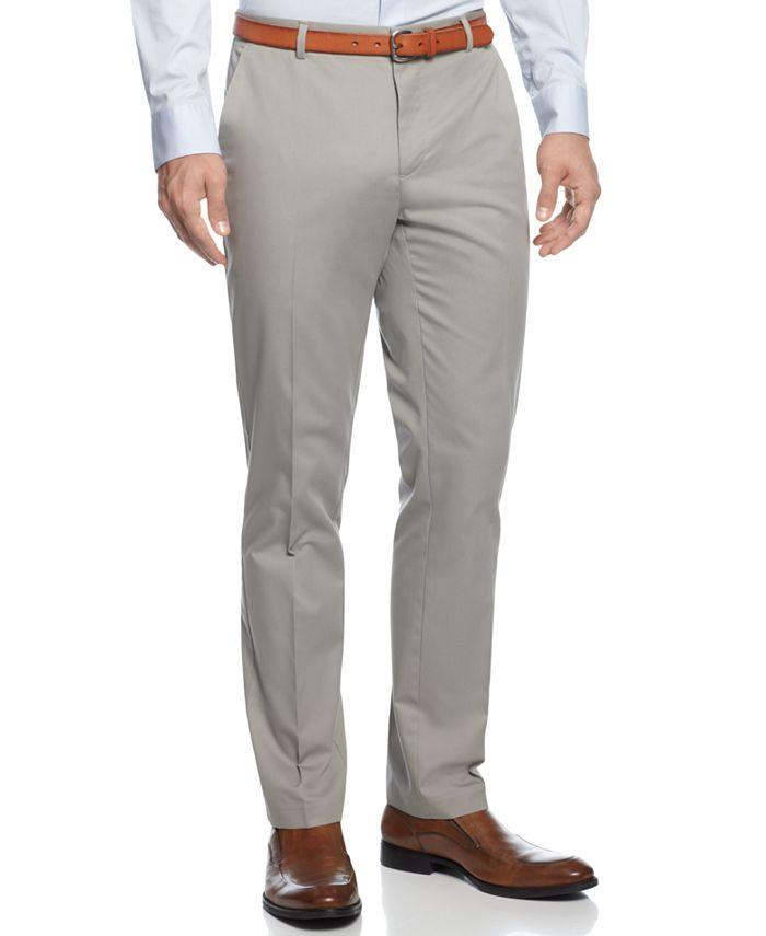 Calvin Klein - Pants, Slim Fit Refined Twill Pants