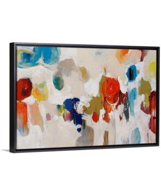 "30 in. x 20 in. ""Gum Drop"" by  Sydney Edmunds Canvas Wall Art"
