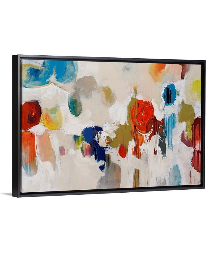 "GreatBigCanvas - 30 in. x 20 in. ""Gum Drop"" by  Sydney Edmunds Canvas Wall Art"