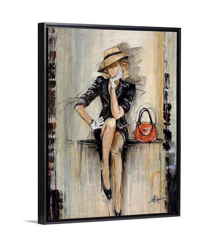 "GreatBigCanvas - 30 in. x 40 in. ""Vogue"" by  Farrell Douglass Canvas Wall Art"