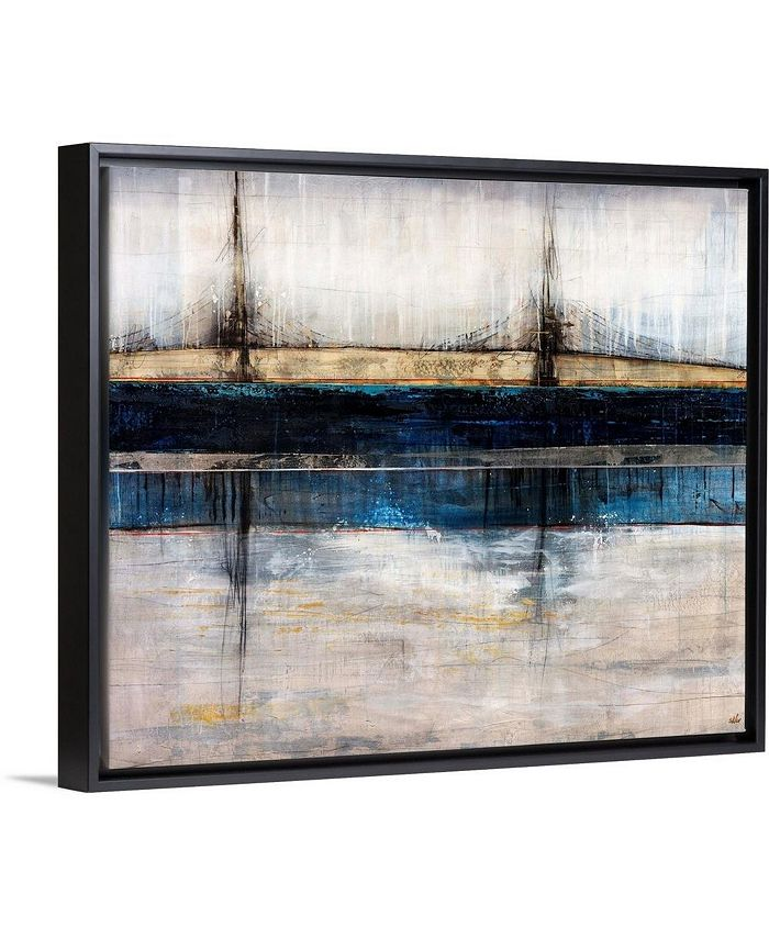 "GreatBigCanvas - 24 in. x 20 in. ""City Blue"" by  Joshua Schicker Canvas Wall Art"