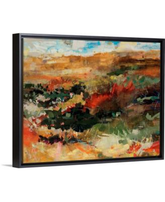 "30 in. x 24 in. ""Out in Nature"" by  Jodi Maas Canvas Wall Art"