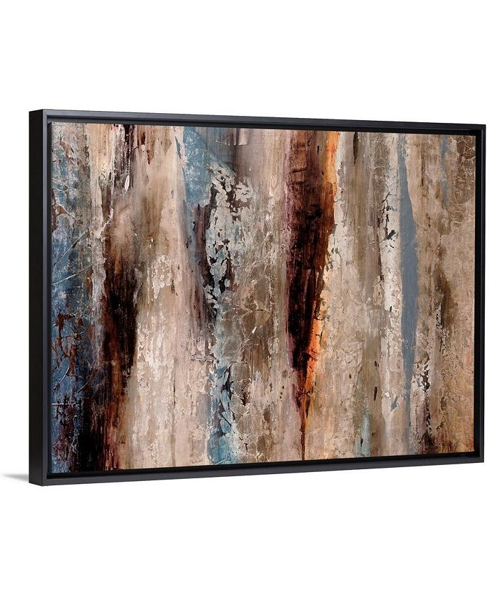 "GreatBigCanvas - 40 in. x 30 in. ""Sediment Rocks"" by  Alexys Henry Canvas Wall Art"
