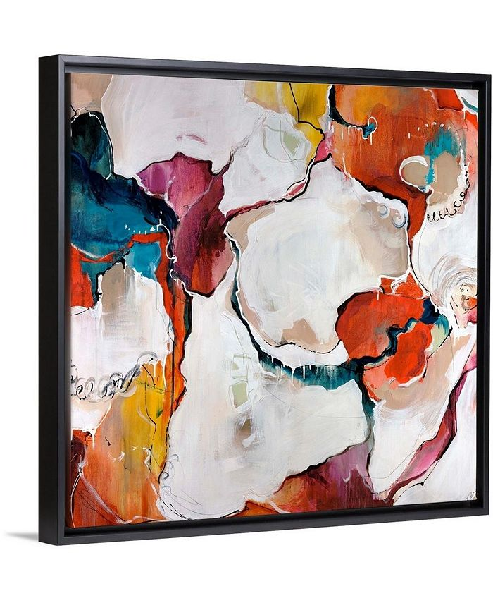 "GreatBigCanvas - 16 in. x 16 in. ""Carnival"" by  Sydney Edmunds Canvas Wall Art"