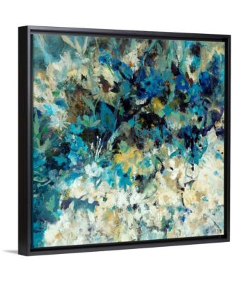 "36 in. x 36 in. ""Pompeii Floral"" by  Jodi Maas Canvas Wall Art"