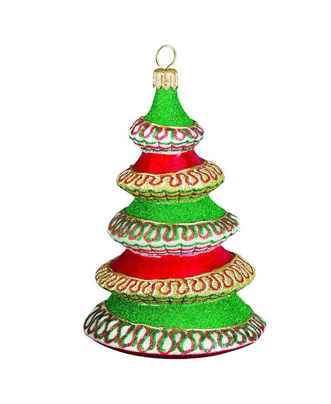 Joy to the World Glitterazzi Ribbon Candy Tree
