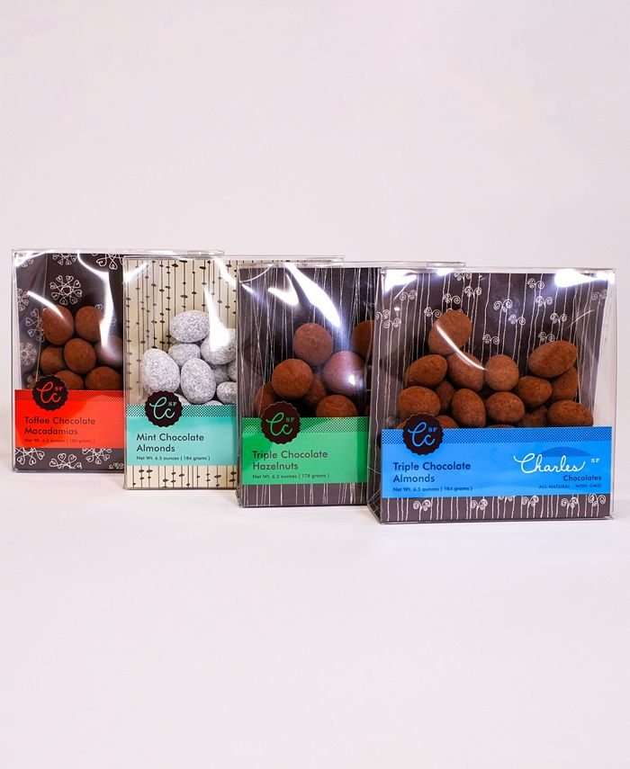 Charles Chocolates - Ultimate Chocolate Covered Nut Collection
