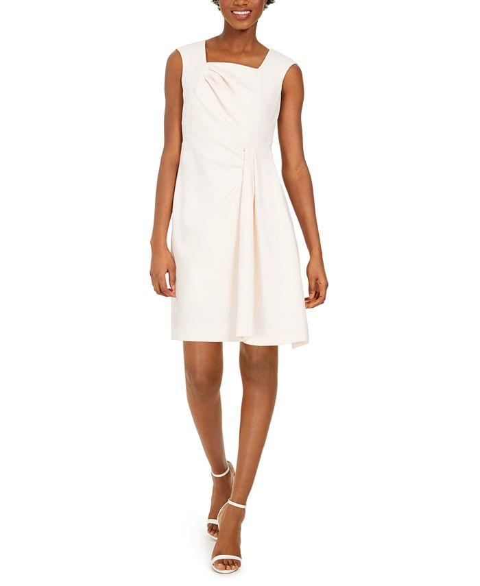 Calvin Klein - Petite Square-Neck Sheath Dress