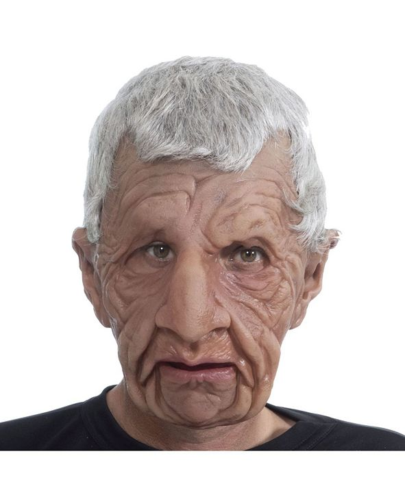 Zagone Studios ZagOne Size Studios Coach Old Man Latex Adult Costume Mask One Size