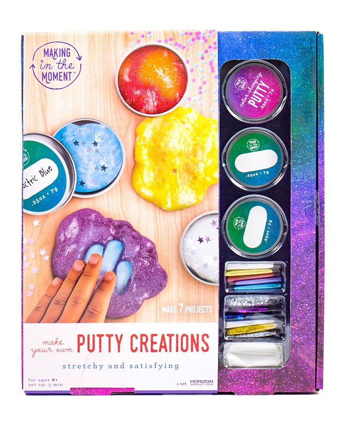Making in the Moment - Putty Creations