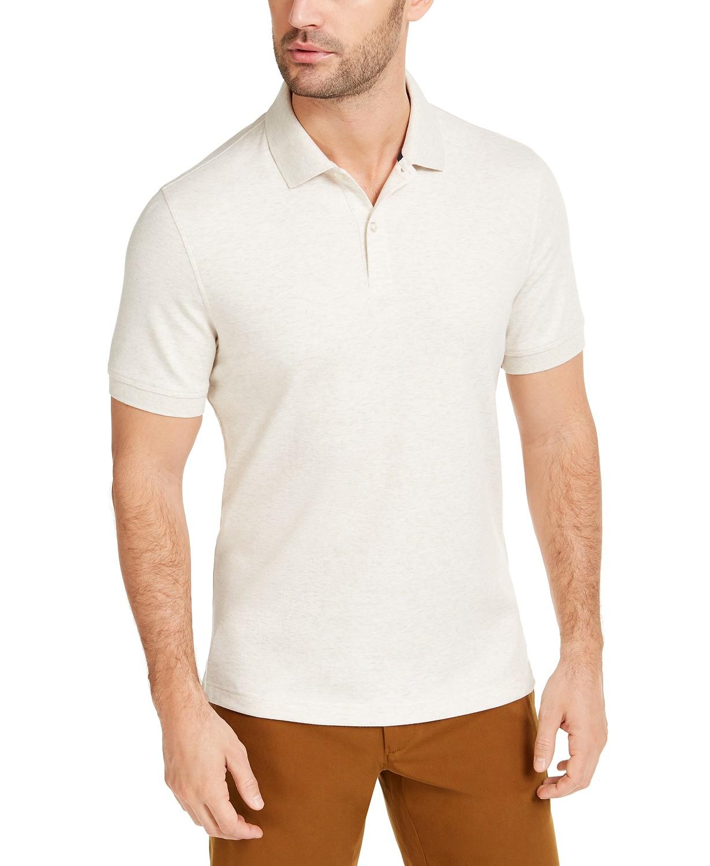 Club Room Men's Interlock Polo Shirt