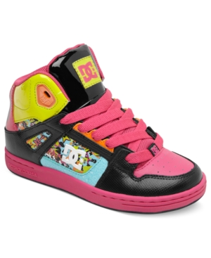 DC Shoes Kids Shoes Girls or Little Girls Rebound SE Sneakers