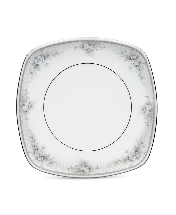 "Noritake - Sweet Leilani Square Luncheon Plate, 8-3/4"""