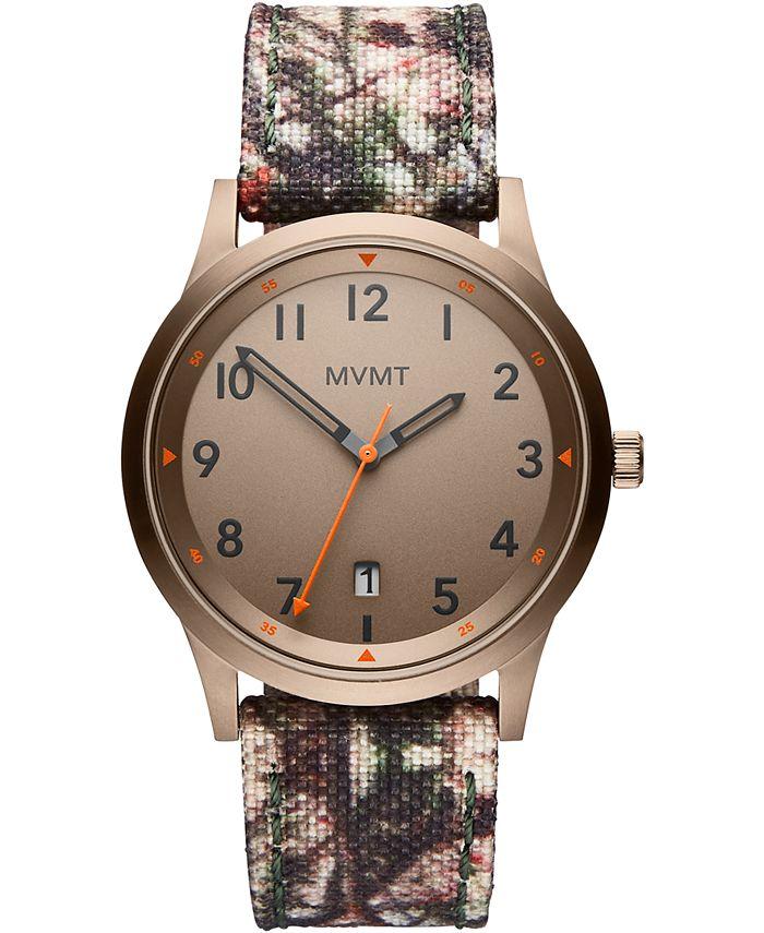 MVMT - Men's Field Camouflage Nylon Strap Watch 41mm