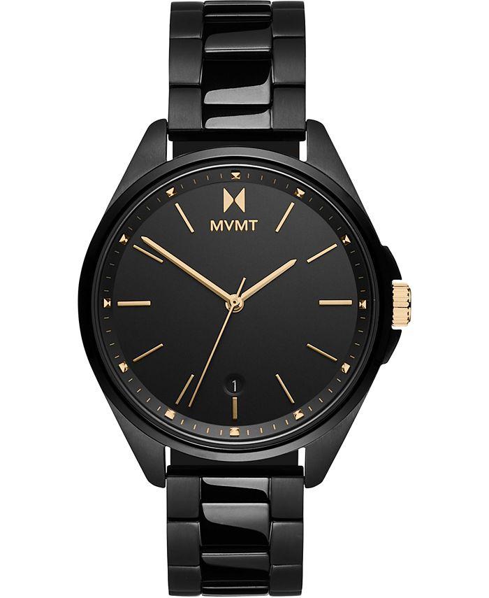 MVMT - Women's Coronada Black Stainless Steel Bracelet Watch 36mm