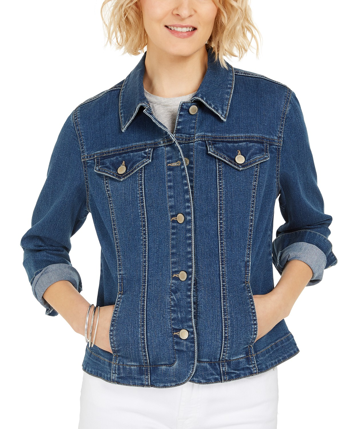 Charter Club Denim Jacket