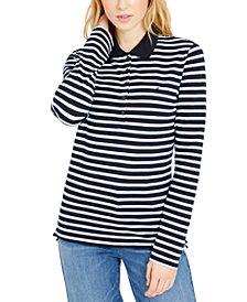 Tommy Hilfiger Small-Stripe Polo Shirt