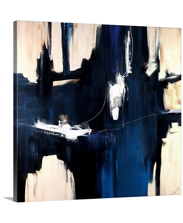 "GreatBigCanvas - 36 in. x 36 in. ""Caves"" by  Sydney Edmunds Canvas Wall Art"