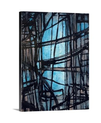 "18 in. x 24 in. ""Articulated Color IV"" by  Joshua Schicker Canvas Wall Art"