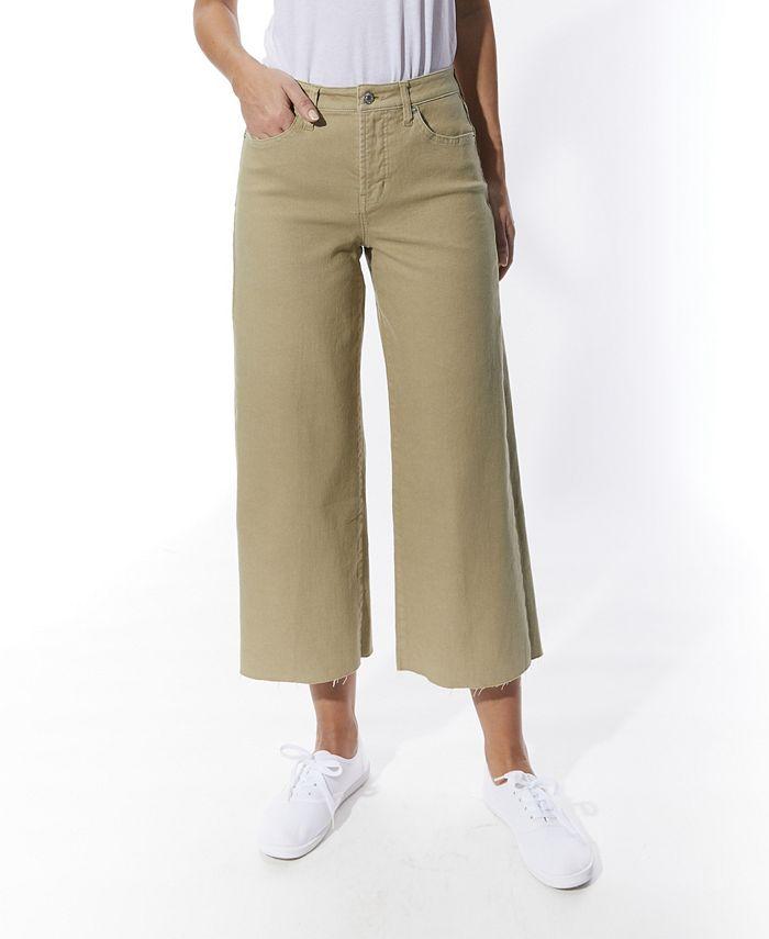 OAT - Cropped Wide-Leg Jeans