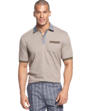 Sean John Shirt The Mixer Polo Shirt