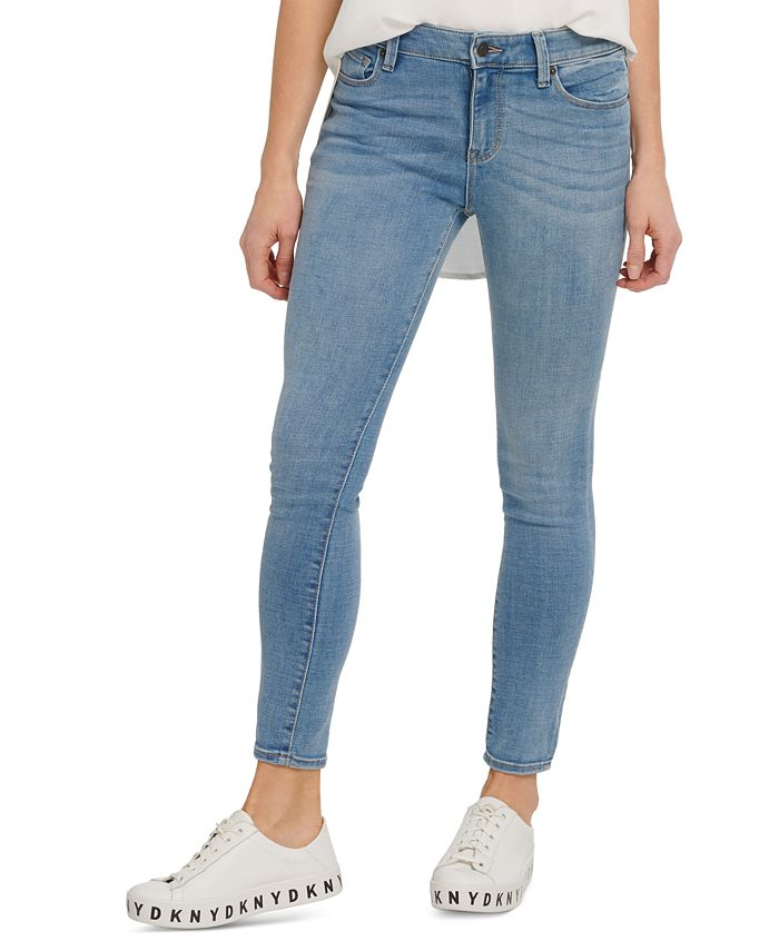 DKNY Jeans - High-Rise Skinny-Fit Ankle Jeans