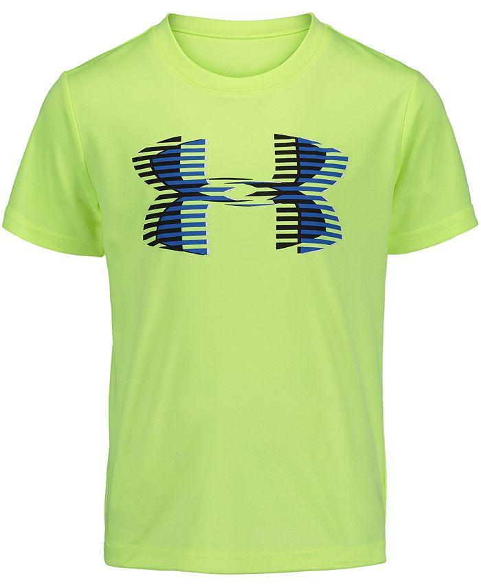 Under Armour - Little Boys Logo-Print T-Shirt