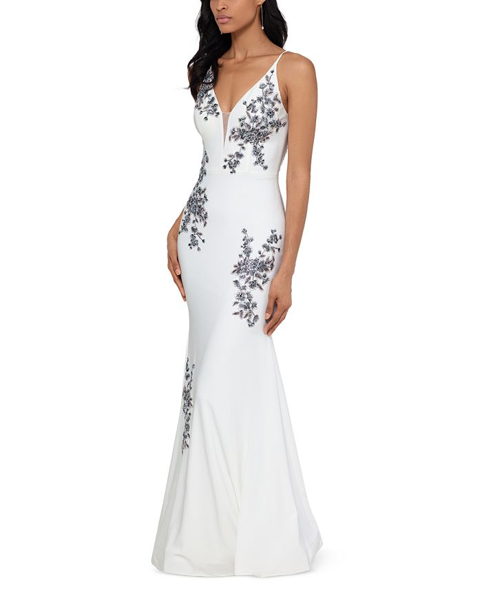XSCAPE - Embroidered Gown