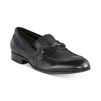 Deals on Alfani Men's Chester Leather Bit Loafers