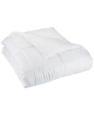 Stripe Reversible Comforter, Full/Queen