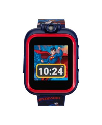 Itouch Kids Playzoom Dc Comics Superman Strap Touchscreen Smart Watch 42x52mm Reviews Watches Jewelry Watches Macy S