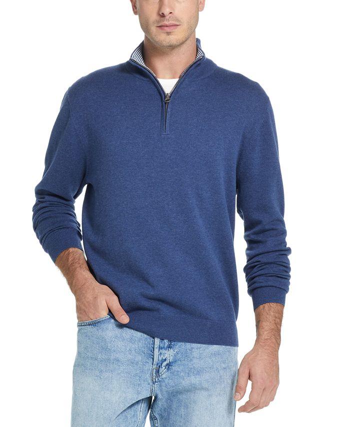 Weatherproof Vintage - Men's Quarter-Zip Pullover Sweater