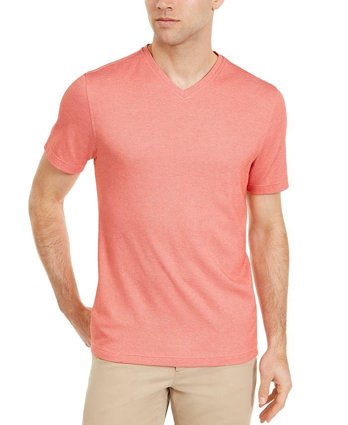 Tasso Elba - Men's Knit V-Neck T-Shirt