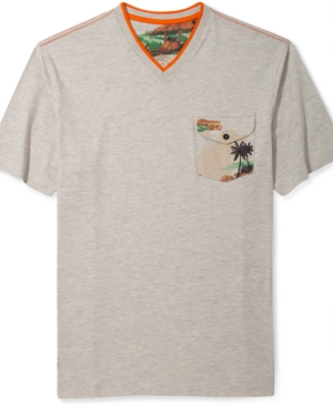 Rocawear TShirt VNeck Surf Camo Short Sleeve TShirt