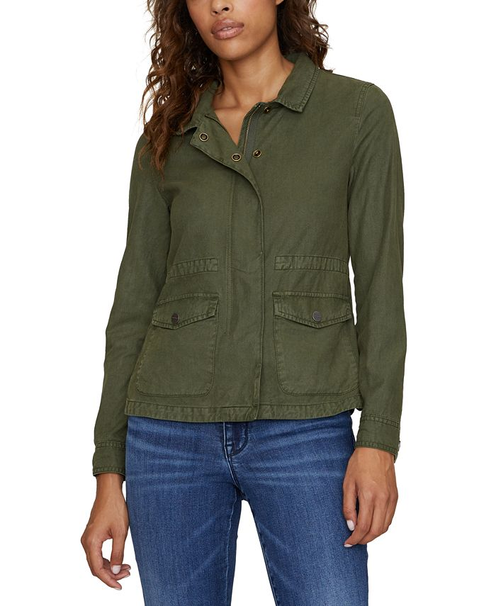 Sanctuary - Liberty Cropped Military Jacket