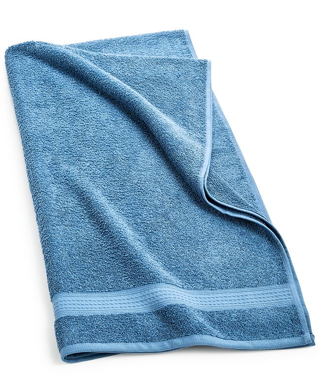 "Home Design Cotton 27.6"" x 54"" Bath Towel, Created for Macy's"