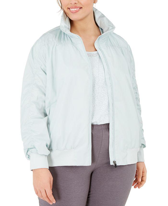 Ideology - Plus Size Ruched Jacket