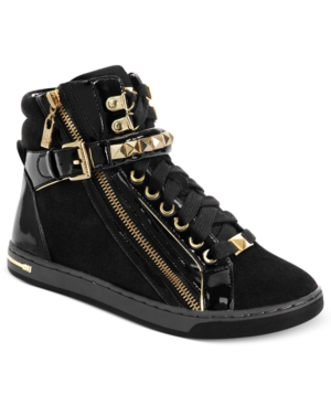 MICHAEL Michael Kors Glam Studded High Top Sneakers Womens Shoes