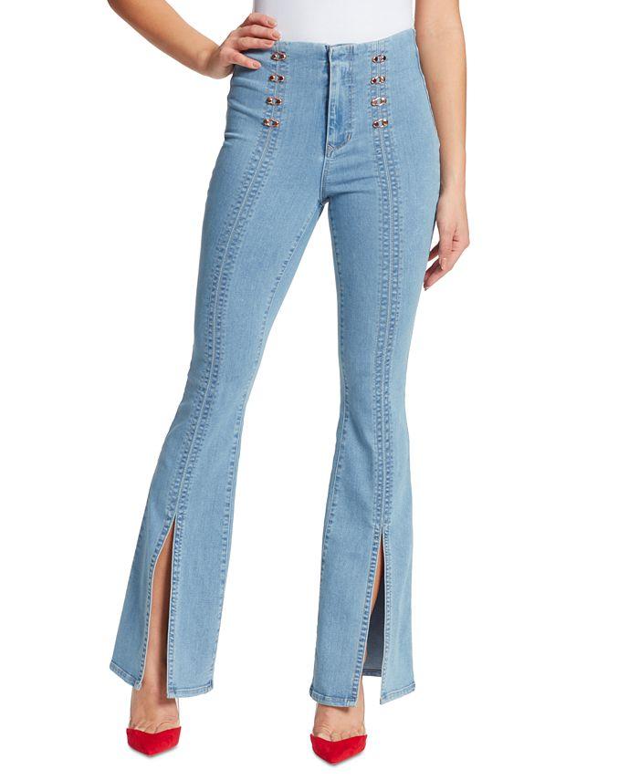 Skinnygirl - Maty Sailor Flare-Leg Jeans