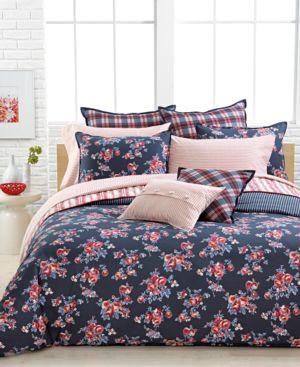 Tommy Hilfiger Bedding Rustic Floral Twin Comforter Set