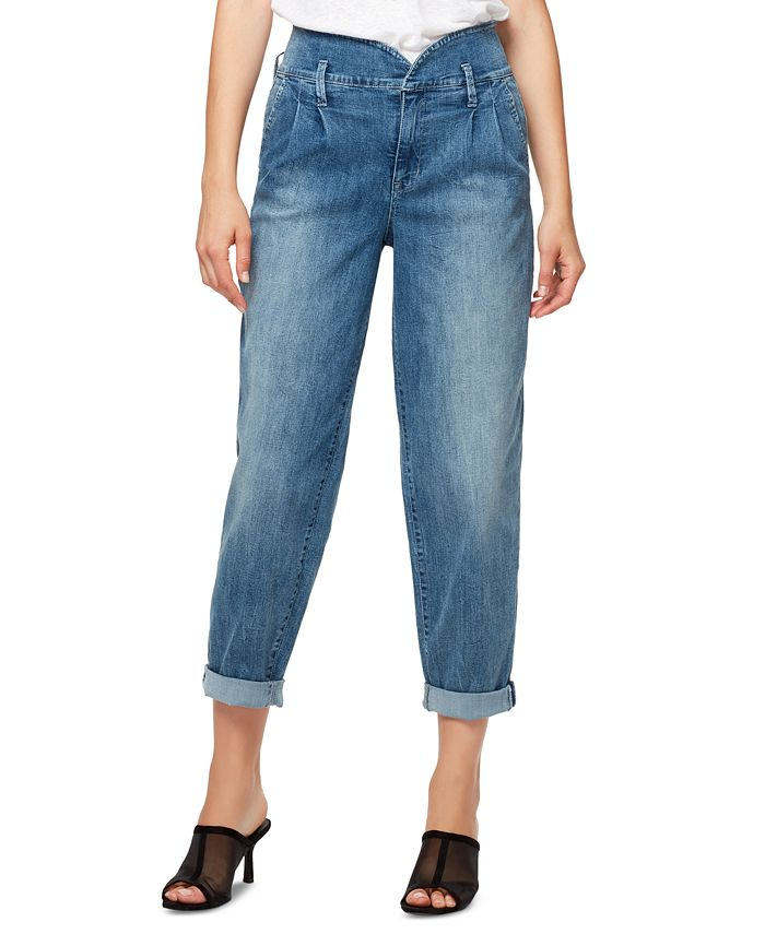 Sanctuary - Pleated Cuffed Jeans