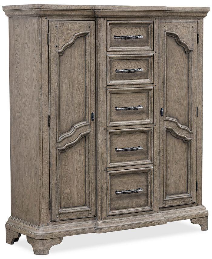 Furniture - Bristol Bedroom Chest with Doors
