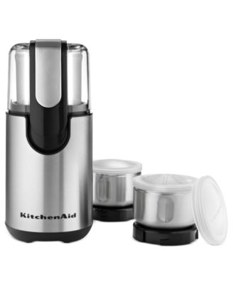 KitchenAid BCG211OB 7 Piece Coffee Grinder & Accessory Set