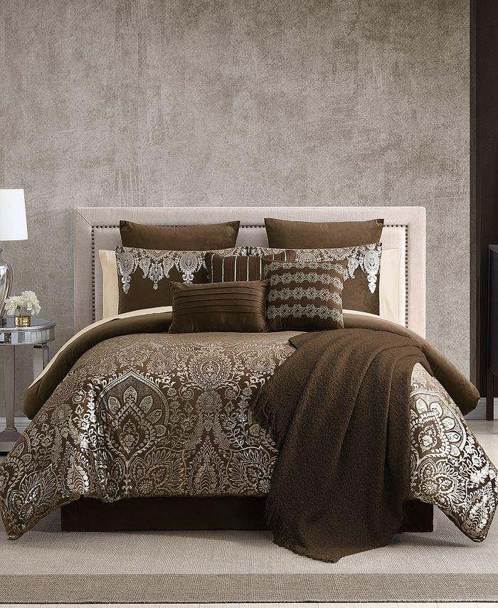 Hallmart Collectibles - Kittral 14 PC Comforter Set