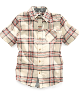 Sean John Kids Shirt Boys Service Plaid Shirt