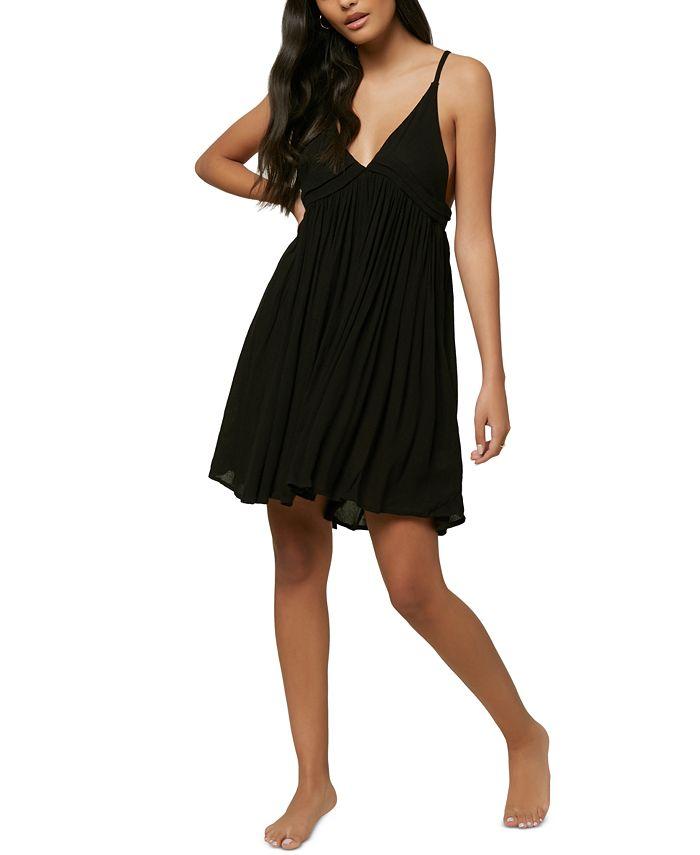 O'Neill - Juniors' Salt Water Sleeveless Cover-Up Dress