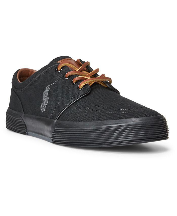 Polo Ralph Lauren - xMen's Canvas Faxon Low-Top Sneakers