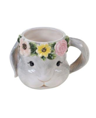 Sweet Bunny 4-Pc. 3-D Bunny Mug