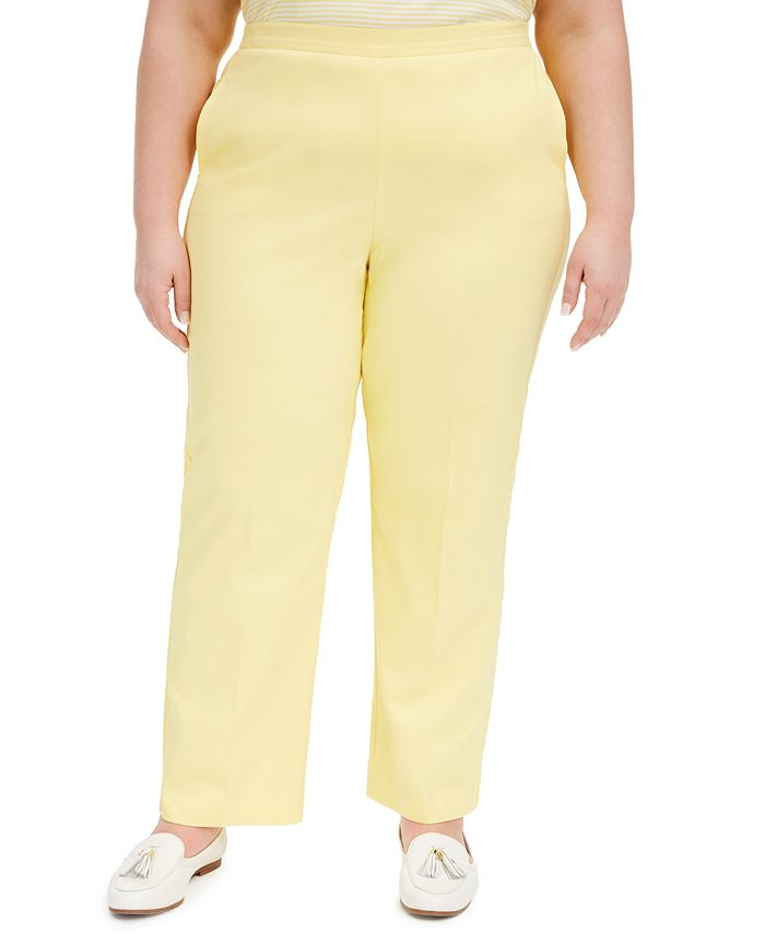 Alfred Dunner - Plus Size Spring Lake Pull-On Pants